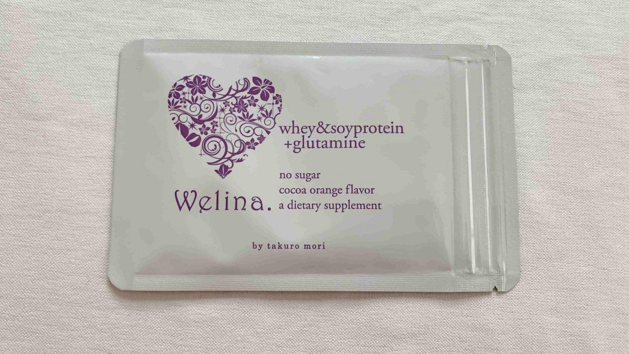 ウェリナプロテイン ココア味の画像